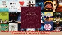 Read  Genetic Engineering Principles and Methods Genetic Engineering Principles  Methods Ebook Free