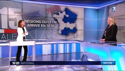 Marine Le Pen sur France 3 (7 décembre 2015)