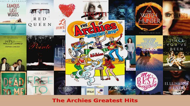 Read  The Archies Greatest Hits PDF Free