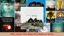 Read  Thin Lizzy The Boys Are Back in Town Ebook Free