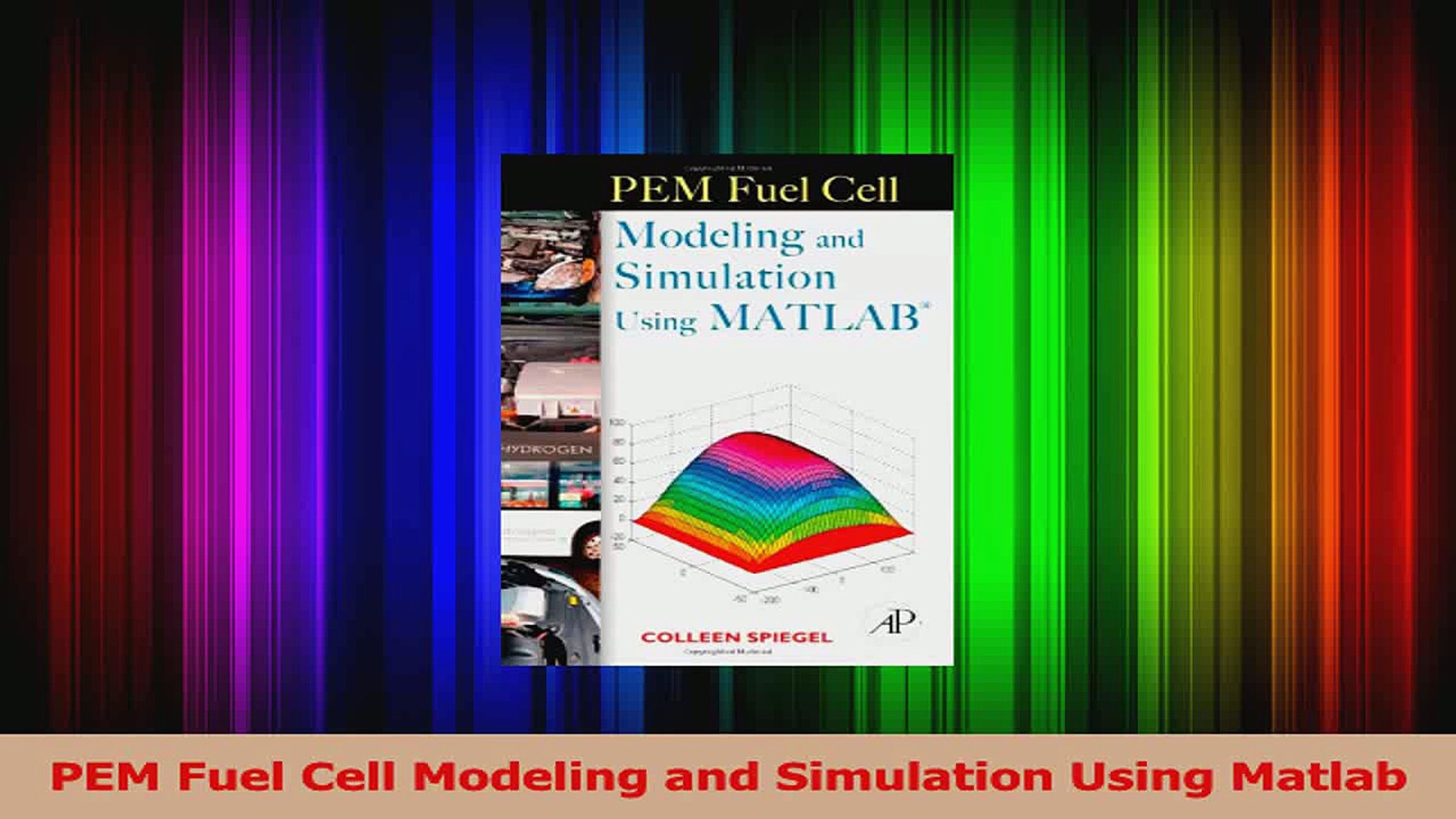 Read PEM Fuel Cell Modeling and Simulation Using Matlab PDF Online