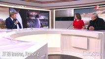 JT France 2 20H - Elsa Zylberstein rend hommage à Jean Dujardin