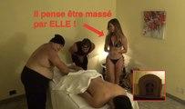 Caméra cachée: Il pensait être massé par une femme très sexy !
