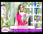 Nadia khan Show on Geo - 7th December 2015 - PART 4