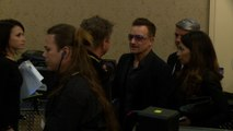 U2 return to Paris and dedicate show to attack victims