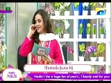 Nadia Khan Show -7th December 2015 Part 4 - Geo Tv Morning Show - Special with Sadaf