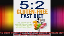52 Glutenfree Fast Diet 100 200  300 Calorie Recipes AND a two week Menu Plan for Easy