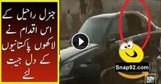 General Raheel Showed Superb Bravery in Karachi