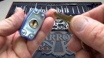 Soyez prudents avec vos serrures... Comment il ouvre facilement une serrure sans la clef