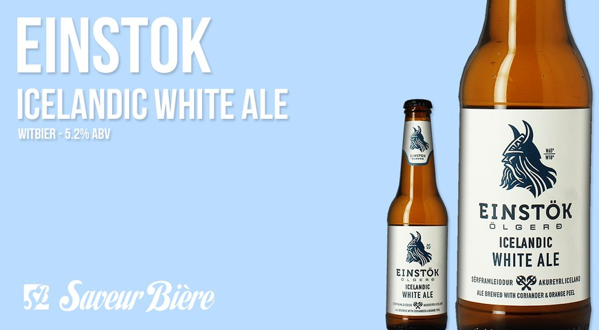 Einstok Icelandic White Ale | Saveur Bière