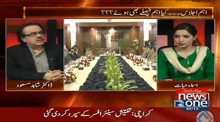 Sindh gov tauheen adalat ki murtakib ho gai hai rangers ki extension per na sign ker ke - Shahid Masood