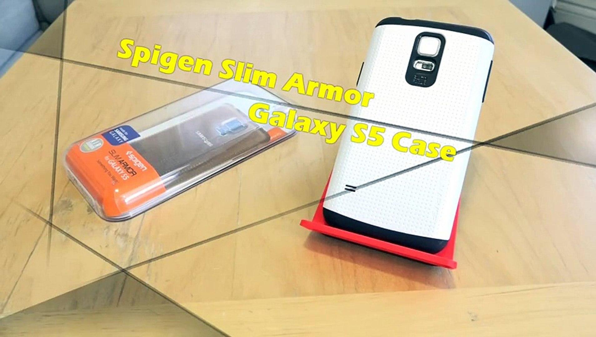 buy popular f00d3 53cb9 Spigen Slim Armor Samsung Galaxy S5 Case Review