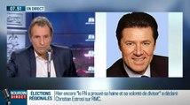 Gros clash entre Christian Estrosi et Jean-Jacques Bourdin - ZAPPING ACTU DU 07/12/2015