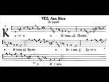 Kyrie gregorian missa VIII, De angelis (messe des anges)