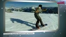 Snowboard : Superbe descente en plan-séquence