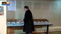 Le fail de François Hollande au moment de voter au 1er tour des régionales