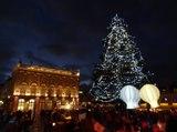 Saint Nicolas 2015 à Nancy : illumination du sapin et rues en fêtes