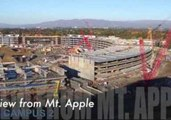 An Aerial View of Apple's Campus 2 in Development