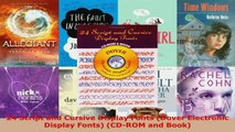 Read  24 Script and Cursive Display Fonts Dover Electronic Display Fonts CDROM and Book PDF Free