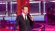 """Marc Lavoine """"Dis-moi que l'amour"""" au Téléthon 2015"""