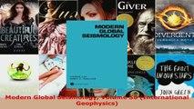 Read  Modern Global Seismology Volume 58 International Geophysics EBooks Online
