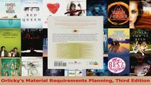 Read  Orlickys Material Requirements Planning Third Edition Ebook Free