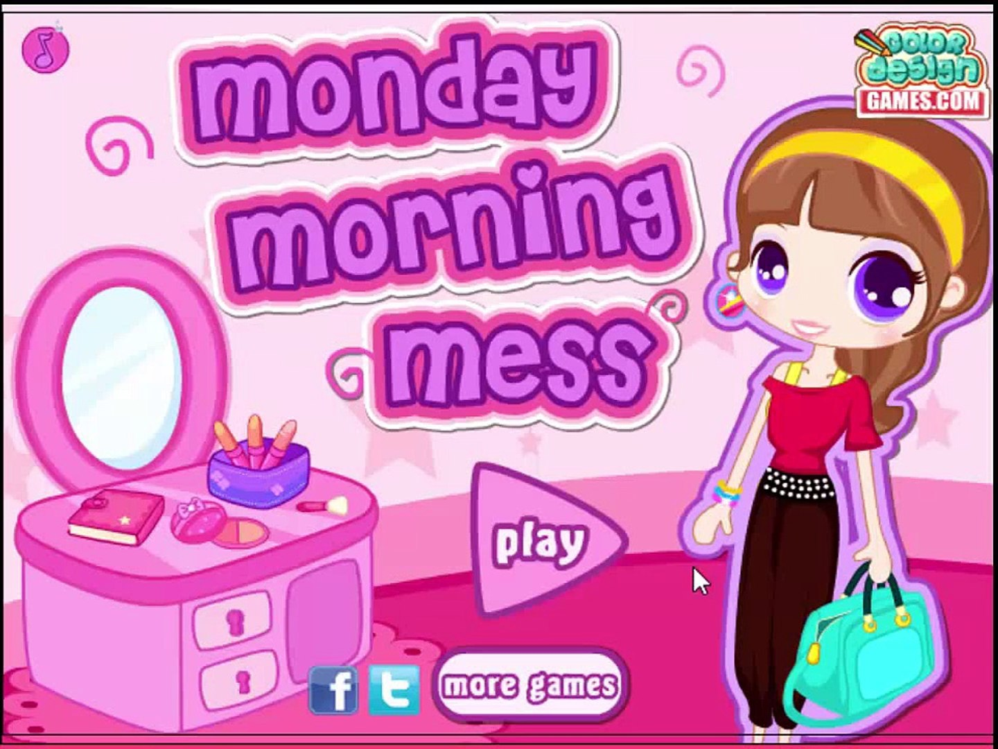 Baby Game Movie Monday Morning Mess game movie for kids