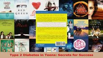 Read  Type 2 Diabetes in Teens Secrets for Success PDF Online