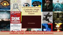 Read  Catholic High School Entr Exam Petersons Master the Catholic High School Entrance EBooks Online