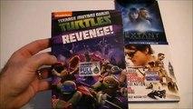 Présentation (unboxing) de TMNT, Under the dome, Extant et Mission Impossible: Rogue Nation