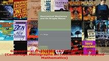 Download  Geometrical Mechanics and De Broglie Waves Cambridge Monographs on Mechanics and Applied EBooks Online