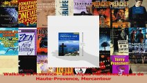 Download  Walking in Provence  East Alpes Maritimes Alpes de HauteProvence Mercantour Ebook Online