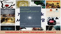 PDF Download  Introduction to Stellar Astrophysics Volume 3 Read Full Ebook