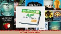 Read  Barrons AP Statistics Flash Cards Barrons the Leader in Test Preparation PDF Online