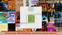 Read  Making and Marketing Music The Musicians Guide to Financing Distributing and Promoting EBooks Online