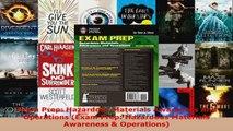 Download  Exam Prep Hazardous Materials Awareness And Operations Exam Prep Hazardous Materials EBooks Online