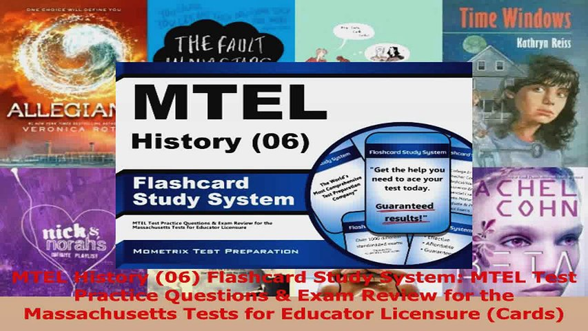 Read  MTEL History 06 Flashcard Study System MTEL Test Practice Questions  Exam Review for EBooks Online