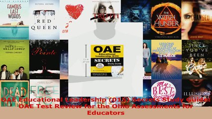 Download  OAE Educational Leadership 015 Secrets Study Guide OAE Test Review for the Ohio Ebook Free