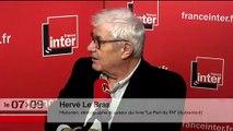 """Hervé Le Bras : """"La droite a nettement perdu et la gauche a nettement progressé"""""""