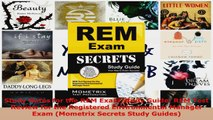 Download  Study Notes for the REM Exam Study Guide REM Test Review for the Registered Environmental EBooks Online