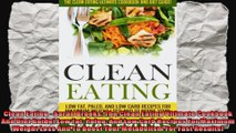 Clean Eating  Sarah Brooks The Clean Eating Ultimate Cookbook And Diet Guide Low Fat