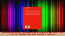 Read  Grid Integration and Dynamic Impact of Wind Energy Power Electronics and Power Systems PDF Free