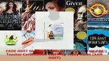 Download  CEOE OGET Oklahoma General Education Test 074 Teacher Certification Test Prep Study Guide Ebook Free