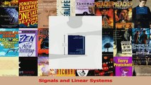 Download  Signals and Linear Systems Ebook Online