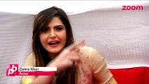Zarine Khan IRKED with questions on Salman Khan - Bollywood Gossip