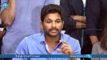 Allu Arjun Emotional Speech at Mana Madras Kosam Campaign Press Meet