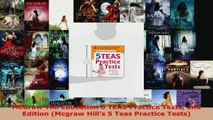 Read  McGrawHill Education 5 TEAS Practice Tests 2nd Edition Mcgraw Hills 5 Teas Practice EBooks Online