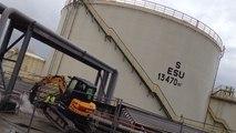 Visite des dépôts pétroliers côtiers
