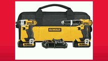 Best buy Hammer Drill Kit  DEWALT DCK285L2 20V Max Lithium Ion Compact Hammerdrill and Impact Driver Combo Kit