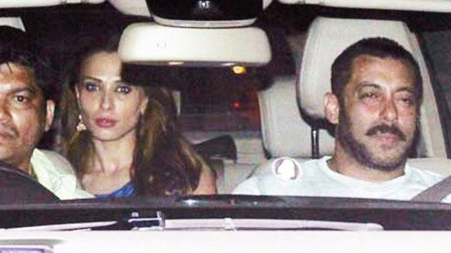 Salman Khan SPOTTED With Lulia Vantur MIDNIGHT